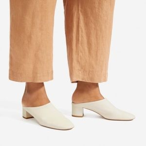 NWOT Everlane The Day Heeled Mule size 9